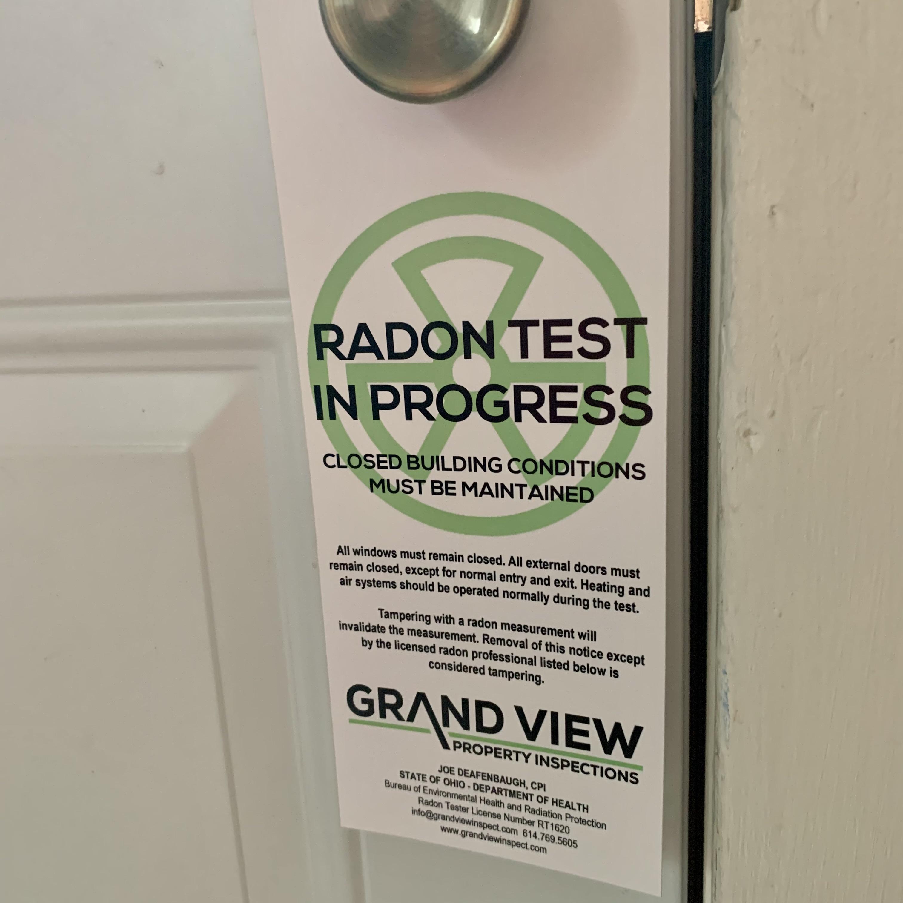Columbus Ohio Radon Testing